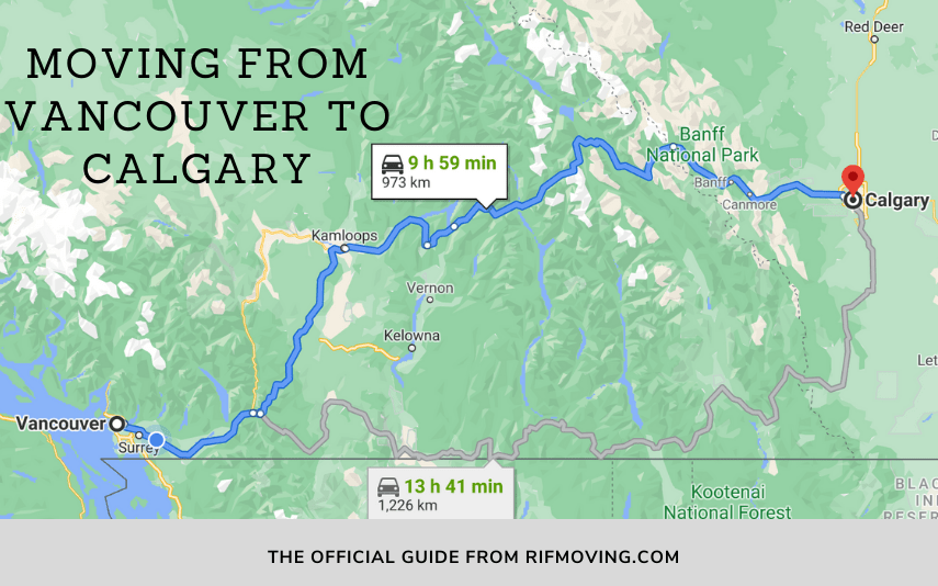 moving from vancouver to calgary