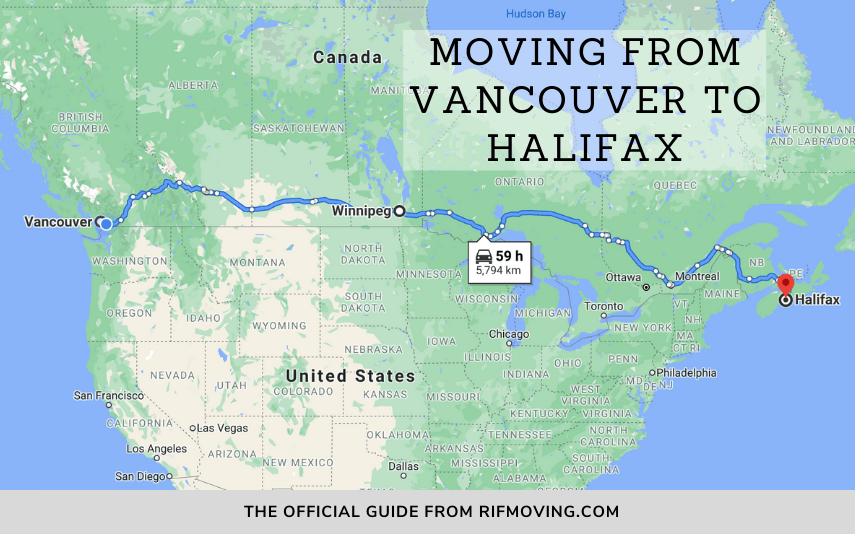 moving from vancouver to halifax