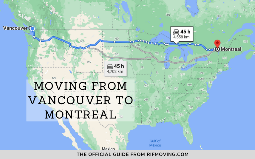moving from vancouver to montreal